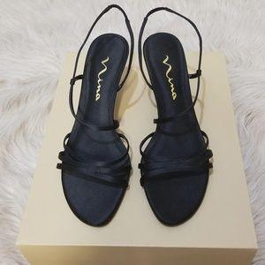Nina Strappy slingback sandals